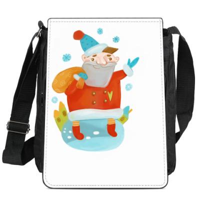 Сумка-планшет Дед Мороз