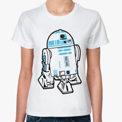 Классическая футболка R2D2