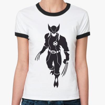 Женская футболка Ringer-T Wolverine