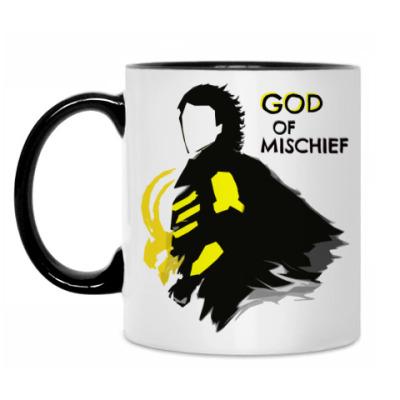 Кружка GOD of Mischief