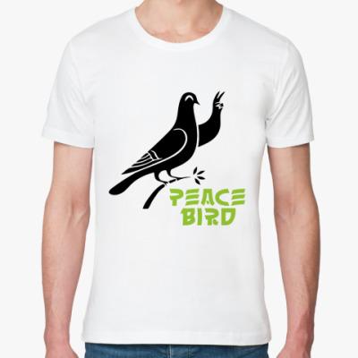 Футболка из органик-хлопка Peace Bird