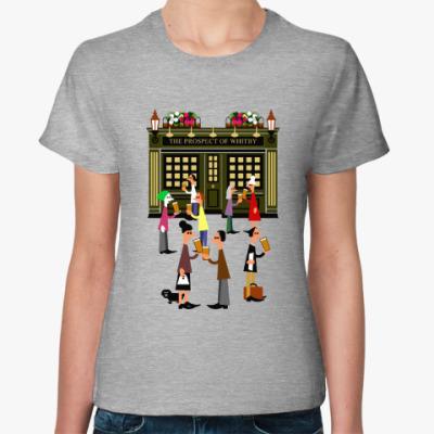 Женская футболка Вечер пятницы в Лондоне