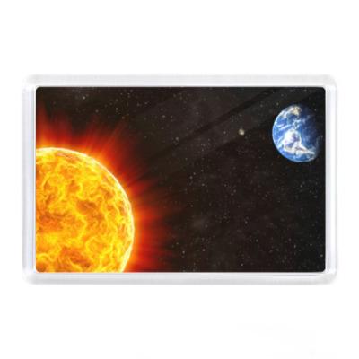Магнит Земля солнце