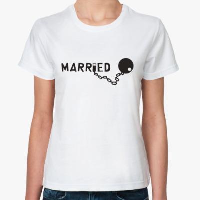 Классическая футболка Married