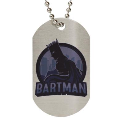 Жетон dog-tag Bartman