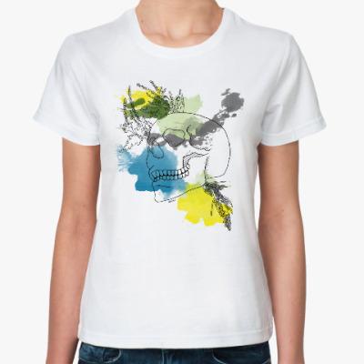 Классическая футболка Сентябрьский череп