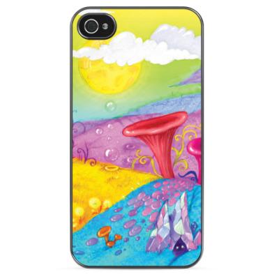 Чехол для iPhone Другой мир, чужая планета