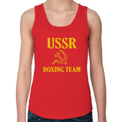 Женская майка USSR