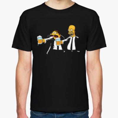 Футболка Pulp Simpsons