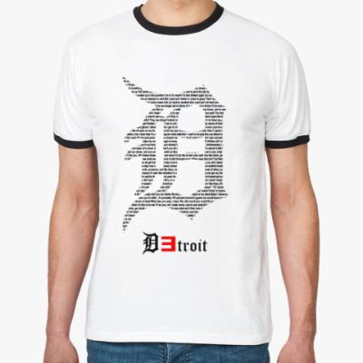 Футболка Ringer-T Detroit Eminem