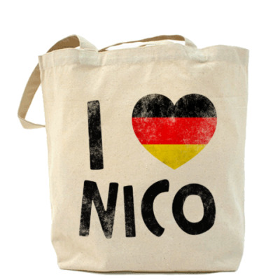 Сумка I LOVE NICO