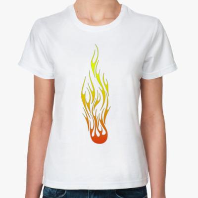 Классическая футболка Flame