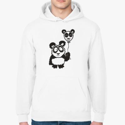 Толстовка худи Панда с шариком