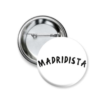 Значок 37мм Значок 37 мм - Madridista