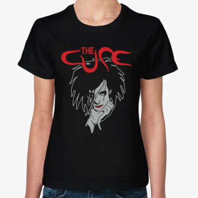 Женская футболка The Cure