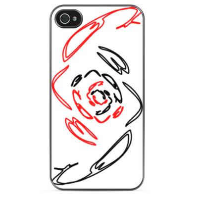 Чехол для iPhone Любовь - зло
