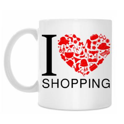 Кружка Я люблю шоппинг