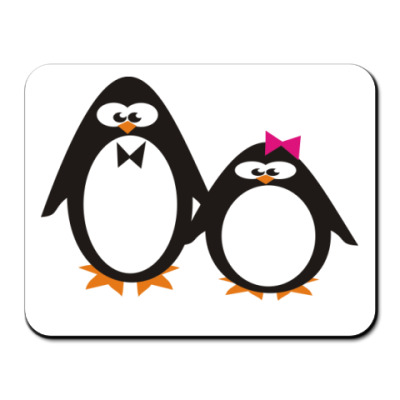 Коврик для мыши Пингвины