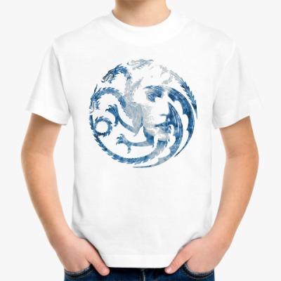 Детская футболка Khaleesi and Dragons