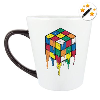 Кружка-хамелеон Кубик Рубика | Спидкубинг
