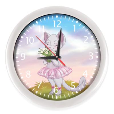 Настенные часы чарующий вечер