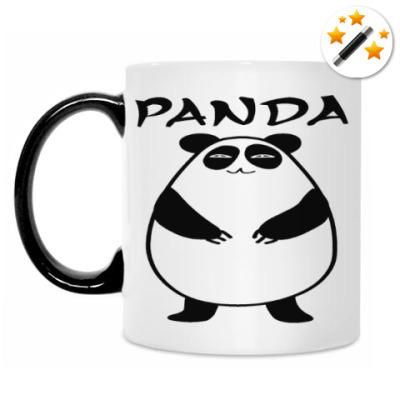 Кружка-хамелеон Panda eats shoots and leaves