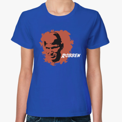 Женская футболка Роббен