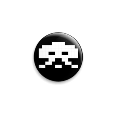 Значок 25мм Space Invader