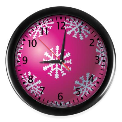 Настенные часы Новогодняя игрушка