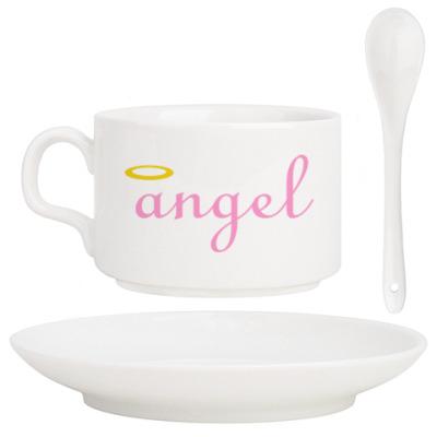 Кофейный набор Ангел