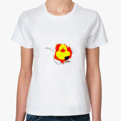 Классическая футболка Уточка