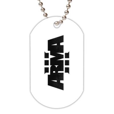 Жетон dog-tag ARMA 3