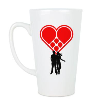 Чашка Латте Любовная пара