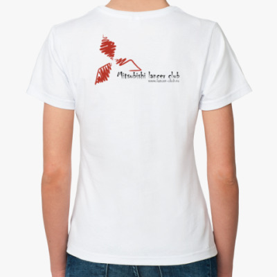 Классическая футболка Женская футболка Fruit of the