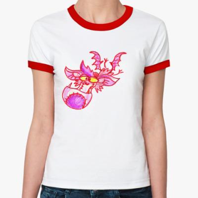 Женская футболка Ringer-T FrankenBat