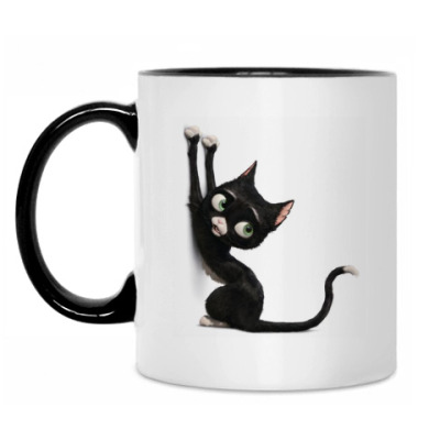 Кружка Черная кошка