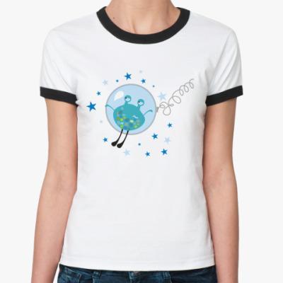 Женская футболка Ringer-T Все достали