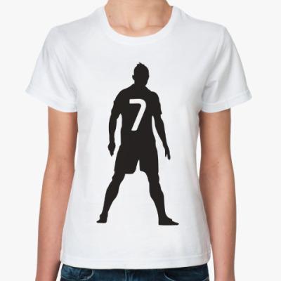 Классическая футболка Ronaldo 7
