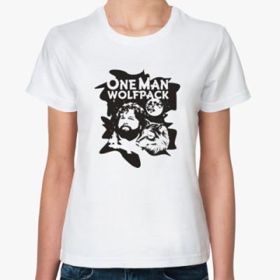 Классическая футболка Wolfpack. Человек-волчья стая.