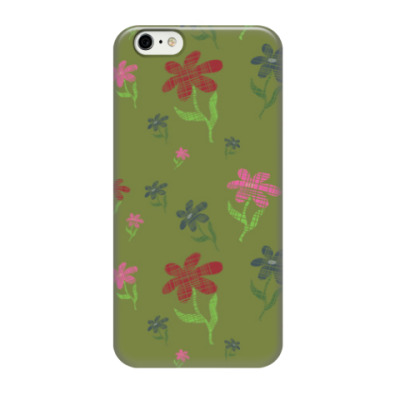 Чехол для iPhone 6/6s Цветочки