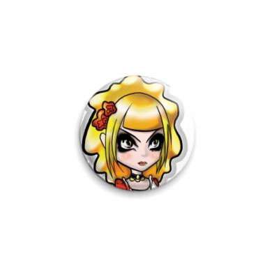 Значок 25мм  Cutie Princess
