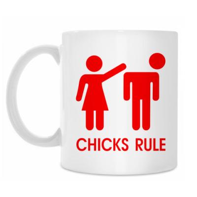 Кружка Chicks Rule