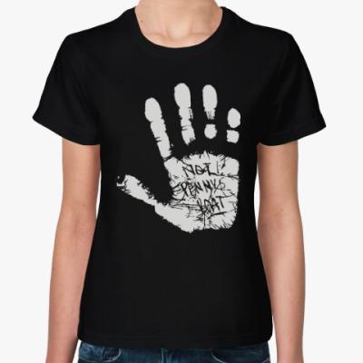 Женская футболка Это не лодка Пенни