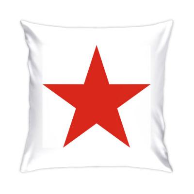 Подушка Красная звезда