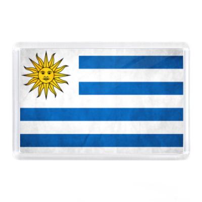 Магнит Уругвай, флаг