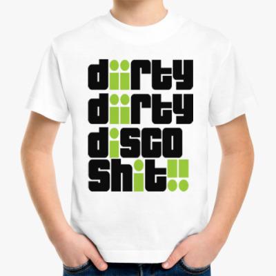 Детская футболка Грязное диско