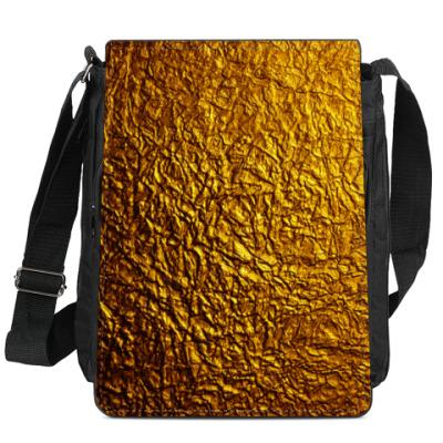 Сумка-планшет Золото