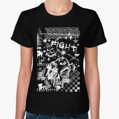 Женская футболка Be grunge!