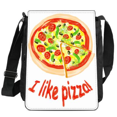 Сумка-планшет Пицца