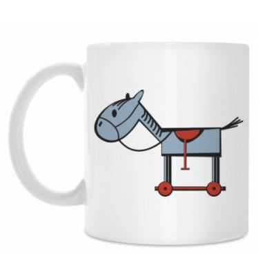 Кружка лошадь horse
